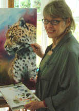 photo of artist Charmian Hayes