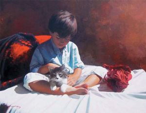 painting by Jose Higuera