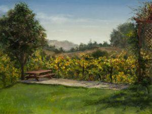 painting by Virgil Elliot