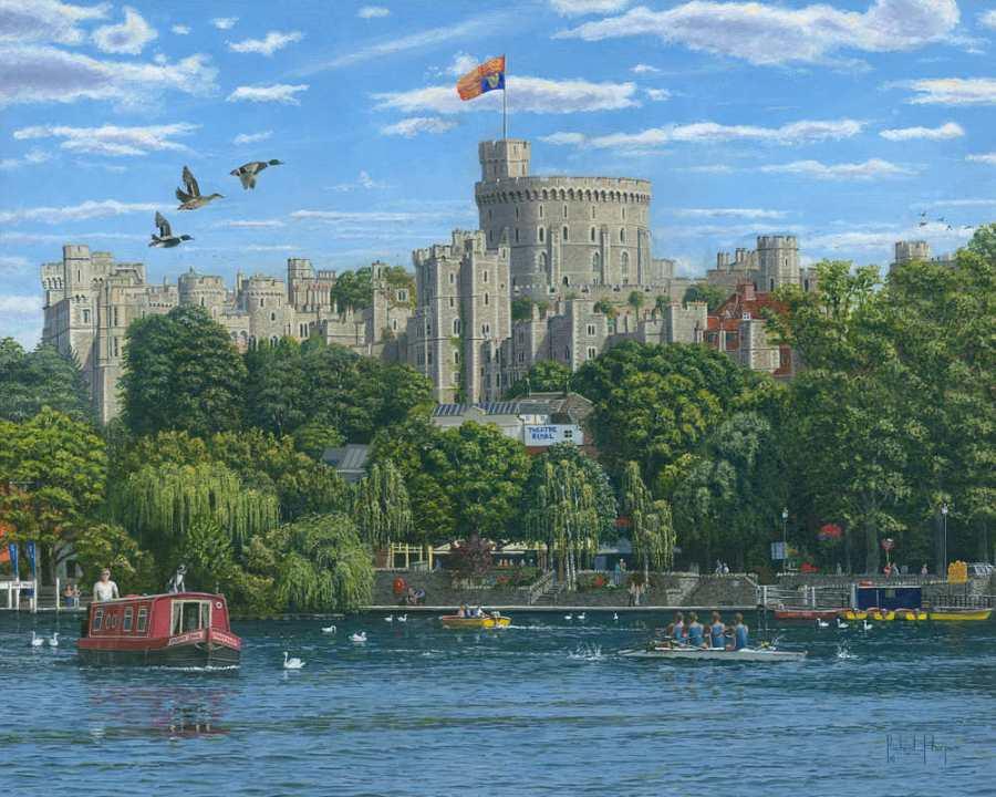 painting by Richard Harpum