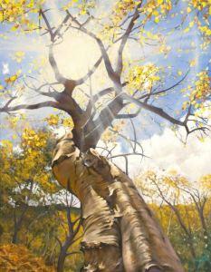 painting by David Johnson