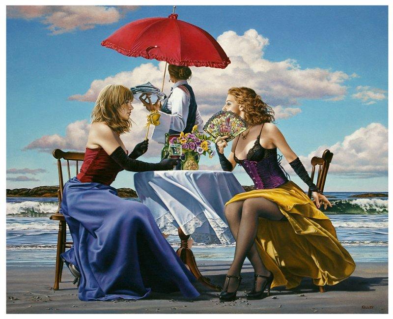 painting by Paul Kelley