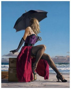 painting by Paul Kelley