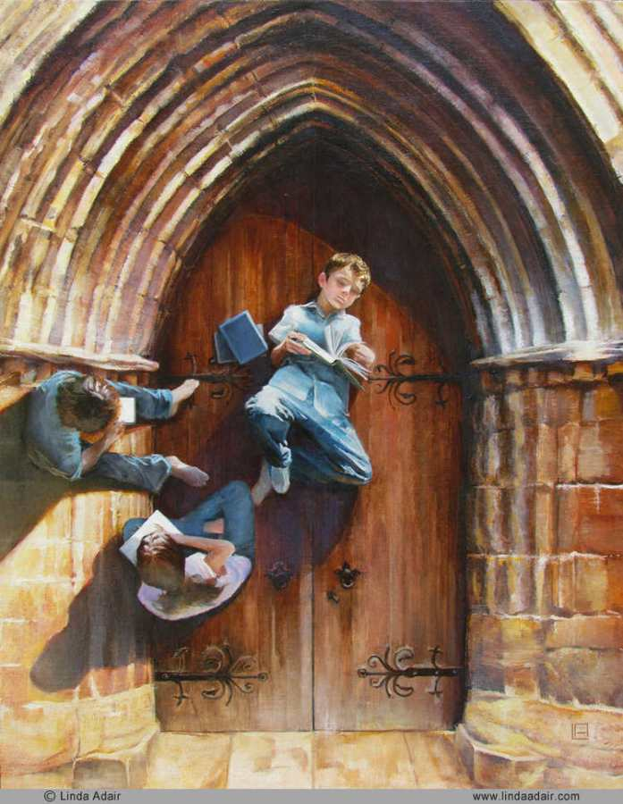 painting by Linda Adair