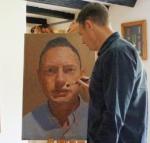James Earley painting