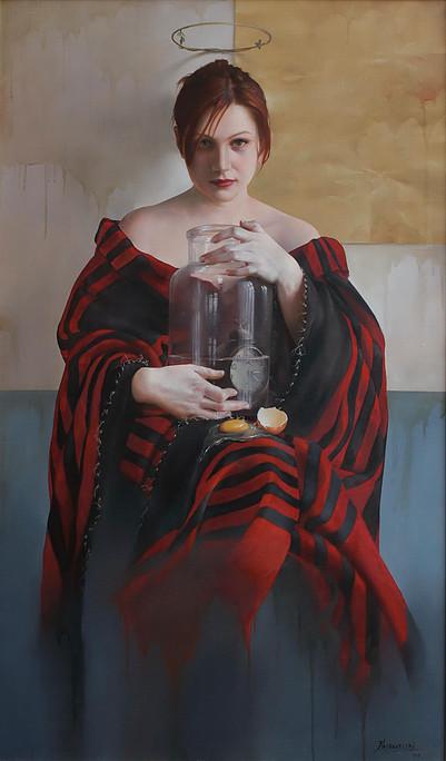 painting by Sinisha Kashawelski