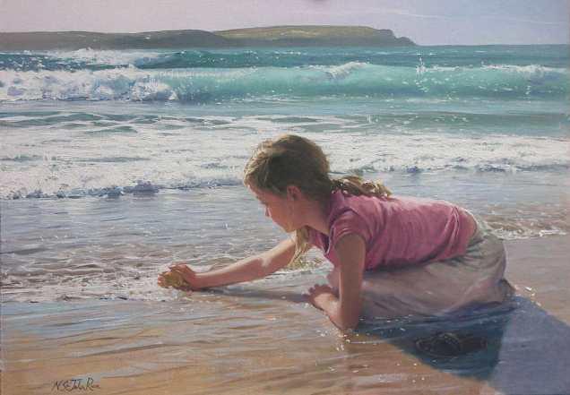 painting by Nickolas St.John Rosse