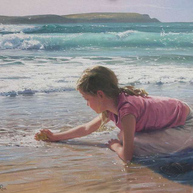 painting by Nickolas St.John Rosse