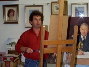 artist Nicholas St.John Rosse