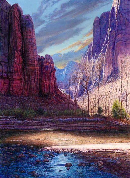 painting by R.Geoffrey Blackburn