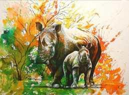 painting by Graeme Stevenson