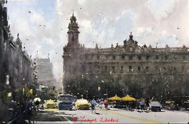 artist Joseph Zbukvic