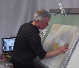 artist David Alldridge