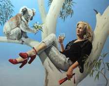 Youre Still Hot to Me - Oil on Linen - Finalist Archibald-Salon-des-Refuse´s