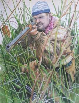 Beaver Grass - pencil